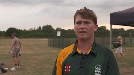 U19CWCQ Europe Div 2: Guernsey v Italy, Player of the Match – Nathan le Tissier