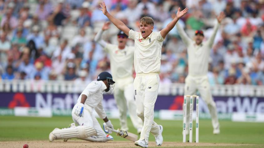 Sam Curran had an outstanding Test match and moved up on all the tables