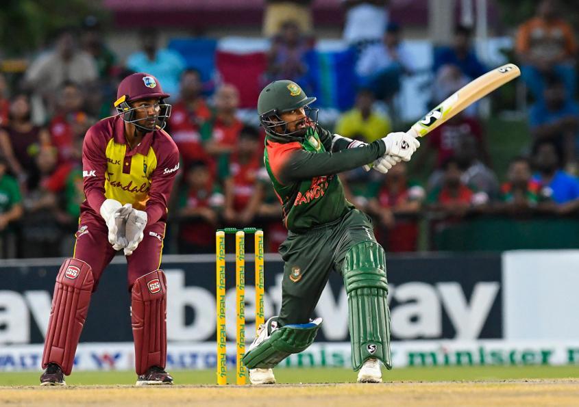Liton Das set up Bangladesh's win in the final T20I