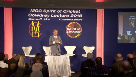 David Richardson's 2018 MCC Spirit of Cricket Cowdrey Lecture