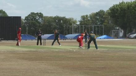 U19CWCQ Europe Div 2: Denmark v Guernsey - Guernsey claim the third wicket