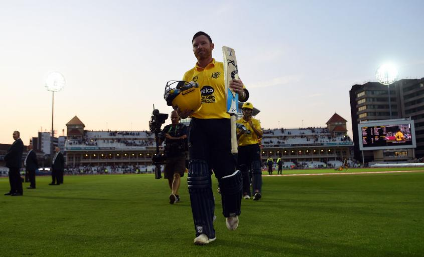 Ian Bell is now his county's highest-ever run-scorer in domestic T20 cricket