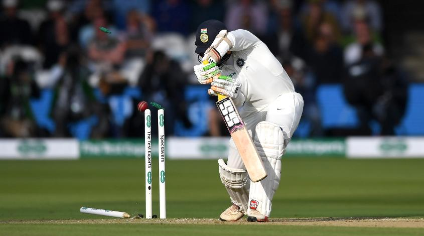 Dinesh Karthik was dismissed by the ball of the day from Sam Curran