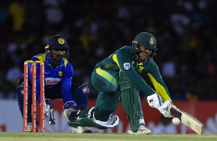 Quinton de Kock lost his first game as stand-in captain