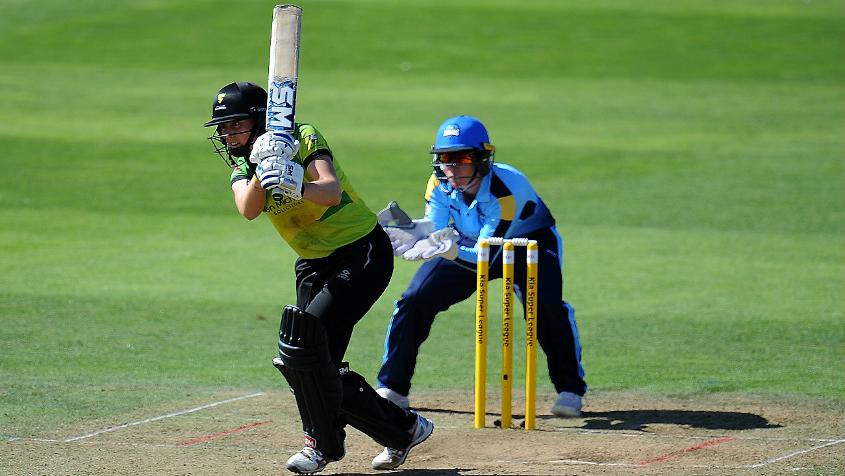 Heather Knight scored her second half-century of the competition