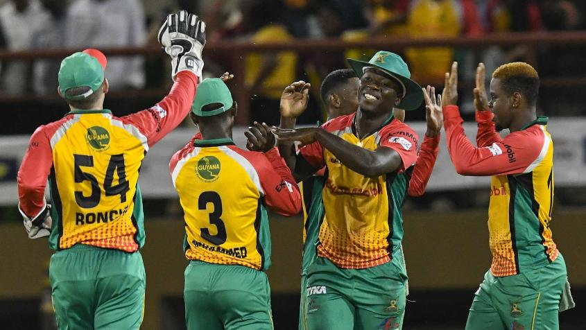 Guyana Amazon Warriors started their campaign with a win