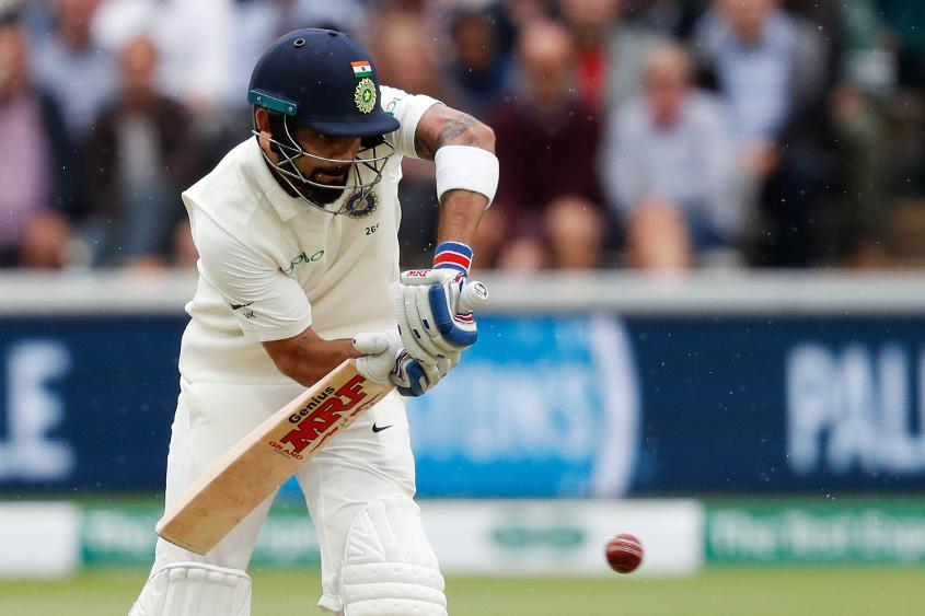 Virat Kohli evaded Jimmy Anderson for the third straight innings