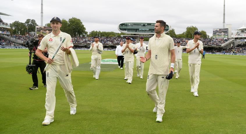 Woakes and Anderson were the standout performers in an outstanding team display