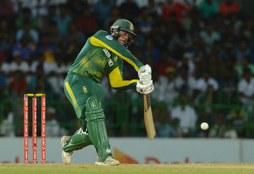 Quinton de Kock received precious little support from his teammates