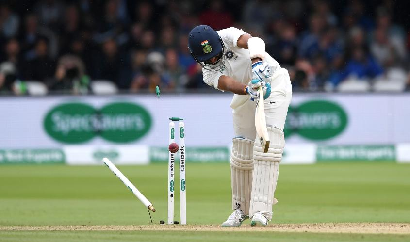 Pujara was cleaned up by a beautiful piece of bowling from Broad