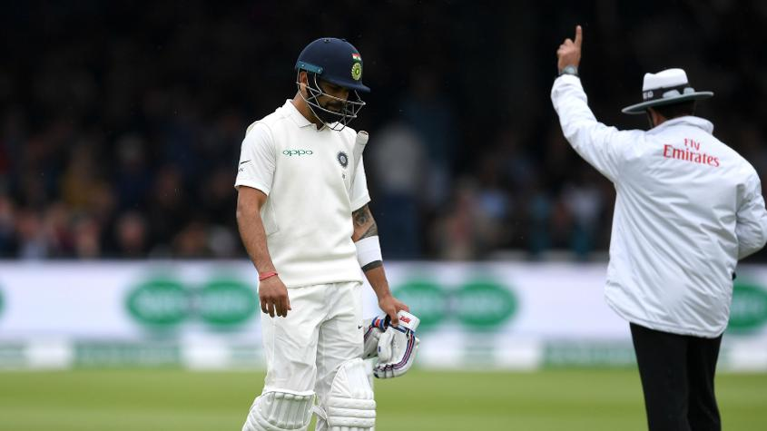 Virat Kohli's stay at the top of the batting charts was a brief one