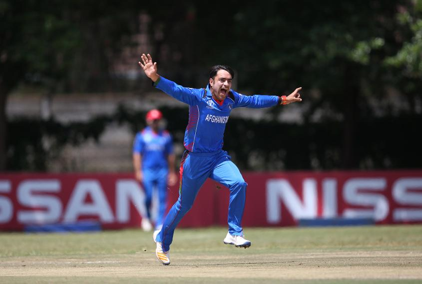 Rashid Khan of Afghanistan was pipped to top spot