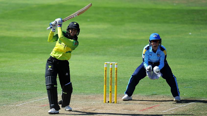 Mandhana has been on a roll at the WCSL, topping all the batting charts so far