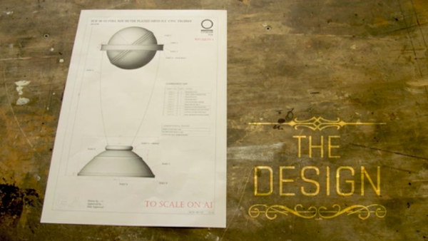 Making of the ICC Cricket World Cup Trophy – Design