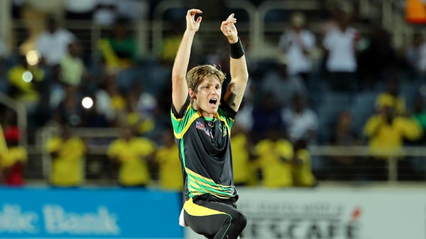 Adam Zampa took 3/29 to keep St Lucia to 175