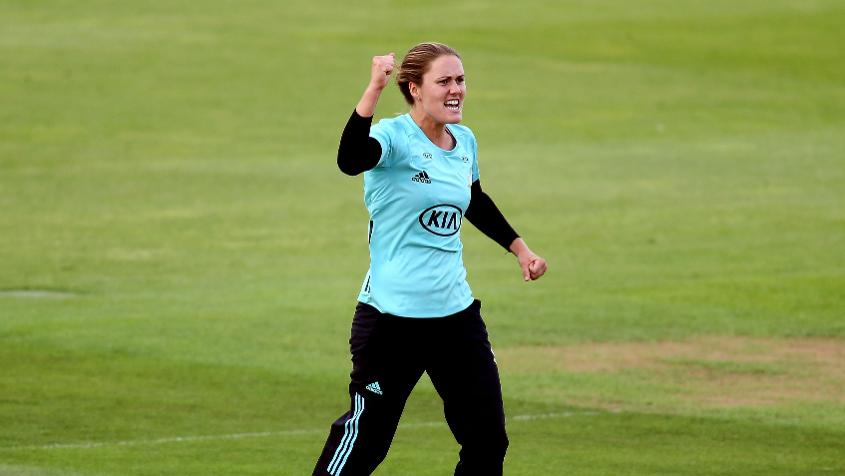 Natalie Sciver's all-round show led Surrey Stars to a close win over Southern Vipers