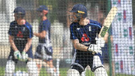 Stokes is back, in the nets, and raring to have another go at the Indians