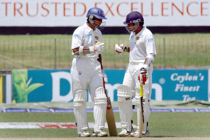 Kumar Sangakkara and Mahela Jayawardena hold the record for the highest partnership in Tests