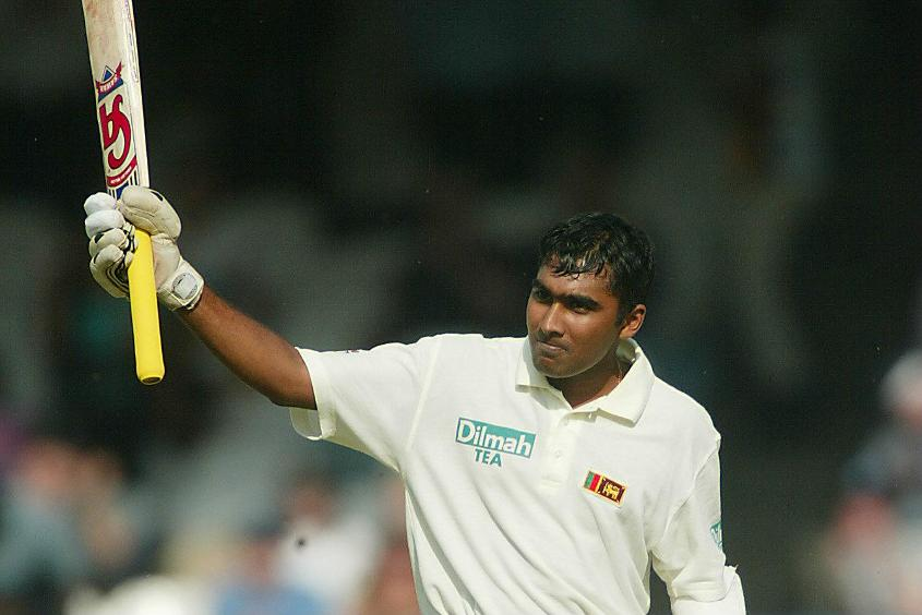 Jayawardena brought up his maiden Test hundred against New Zealand in 1998