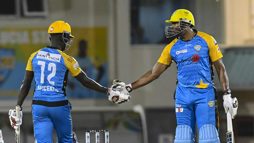 Pollard and Fletcher added 148 runs for the fourth wicket