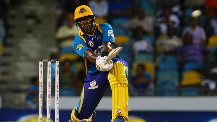 Dwayne Smith's 58 was not enough to take Tridents past the line