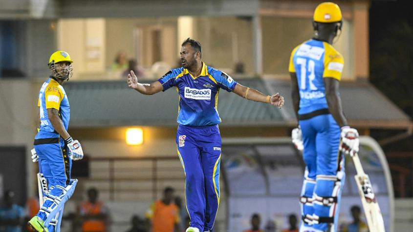 Wahab Riaz picked up three wickets for Tridents