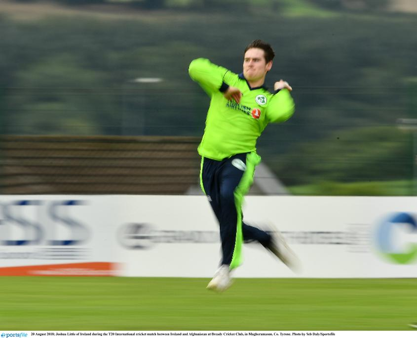Joshua Little helped Ireland claw Afghanistan back