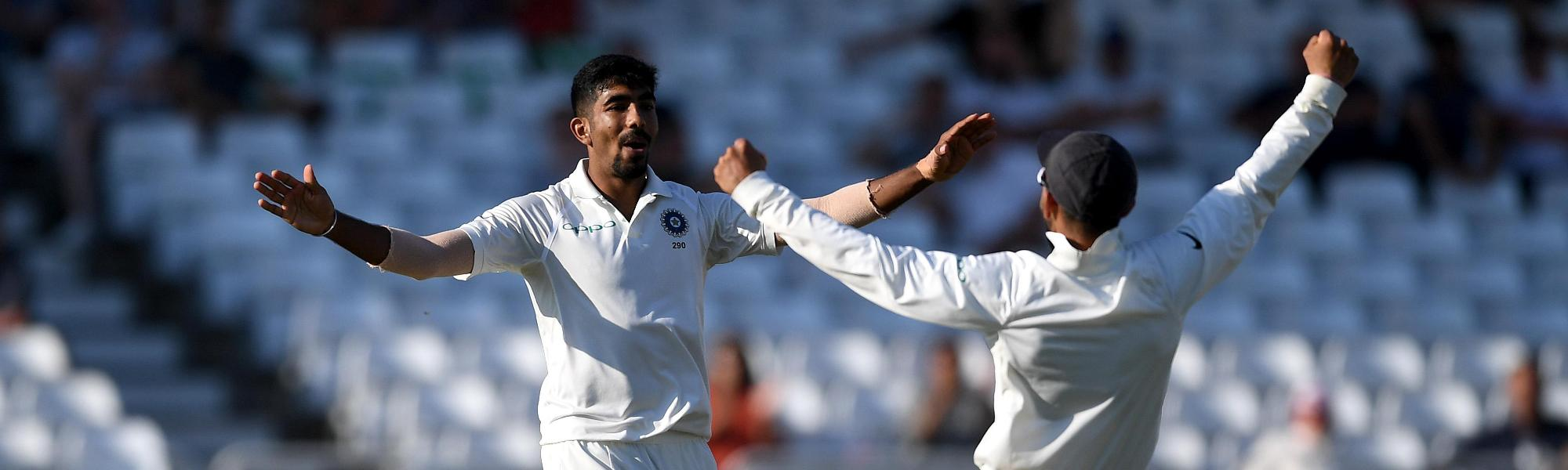 Bumrah five-wicket haul