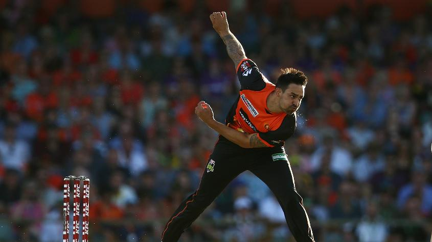 Mitchell Johnson once called Richardson 'a young bowler to keep an eye on'
