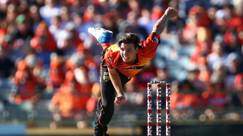 Richardson plays for Perth Scorchers in the Big Bash League