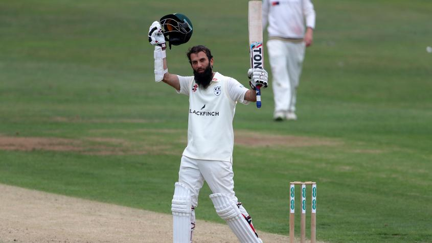 Moeen Ali scored 219 and picked up eight wickets in his last County Championship fixture against Yorkshire