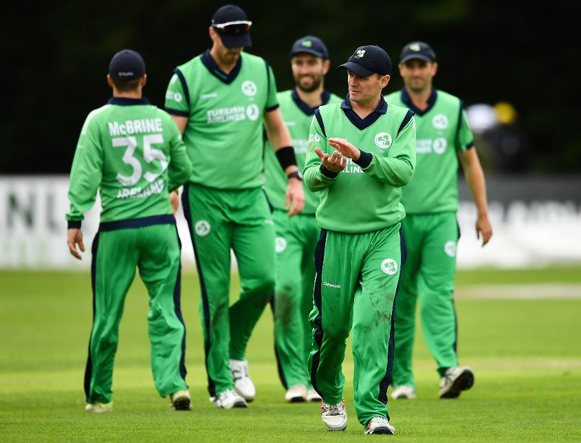 Ireland were well placed at the halfway stage