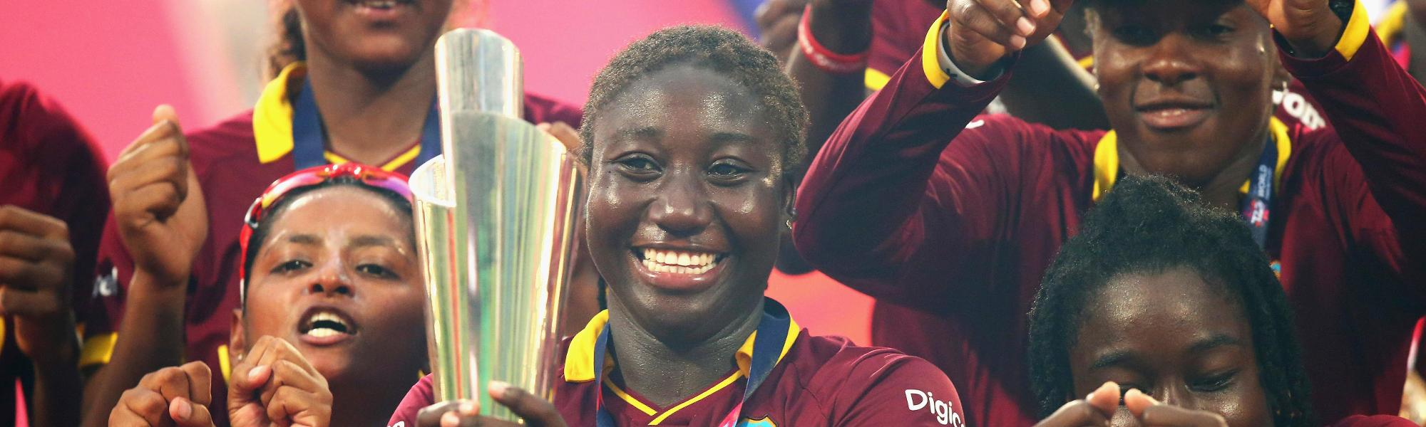 Windies Women World T20 2016 trophy