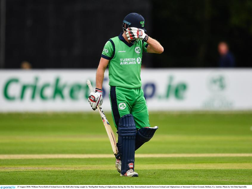 Balbirnie was frustrated with his dismissal