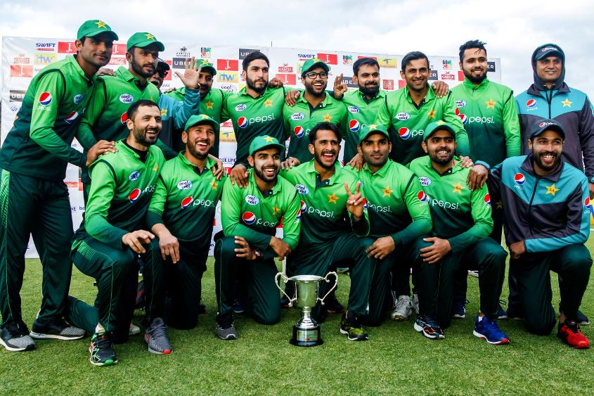 Pakistan thumped Zimbabwe 5-0 in their most recent ODI series
