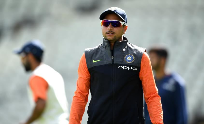 Kuldeep was brought in for the second Test but hasn't pinned down a place in the side
