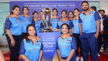 ICC Cricket World Cup 2019 Trophy Tour – Oman and Muscat