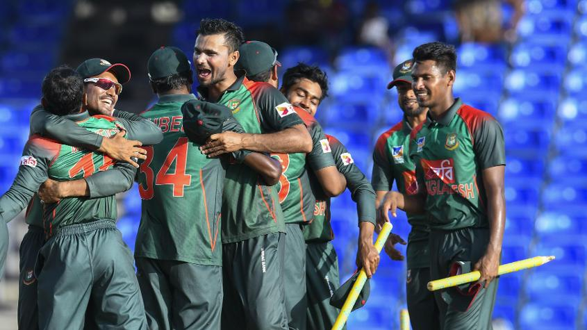Bangladesh were victorious in their last ODI campaign, winning a three-match series against the Windies 2-1