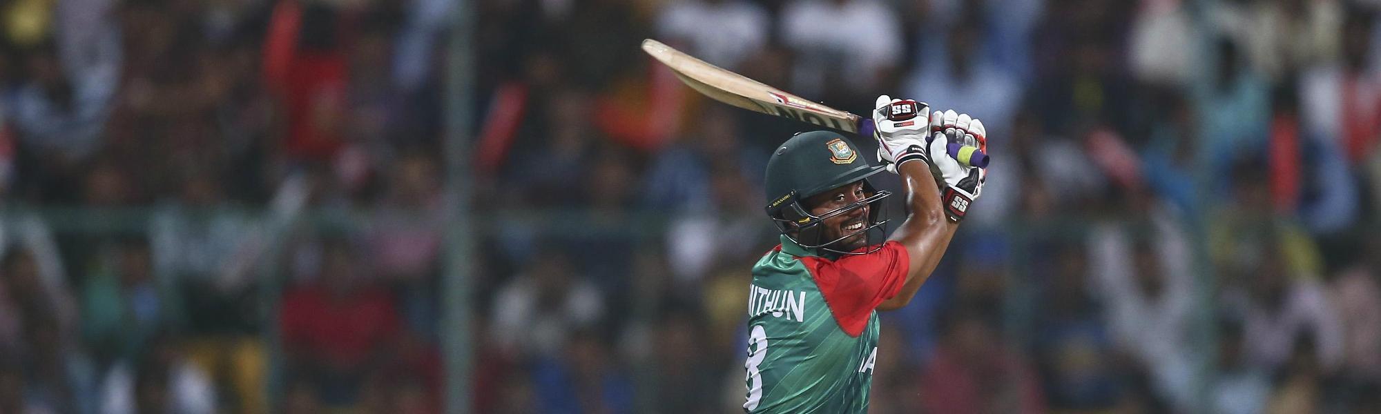 Mohammad Mithun impressed against Sri Lanka