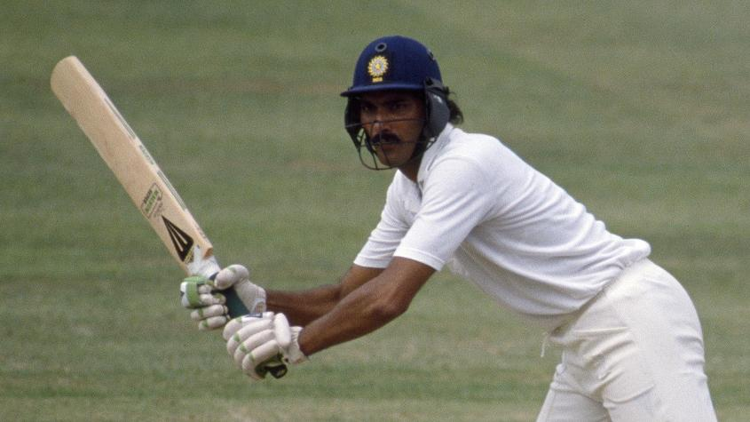Ravi Shastri is the only other batsman to achieve the feat in first-class cricket