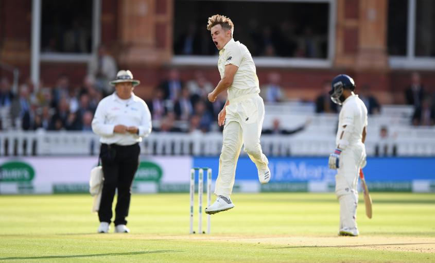 Sam Curran had starred with the bat and ball in the first Test, before he was left out of the third