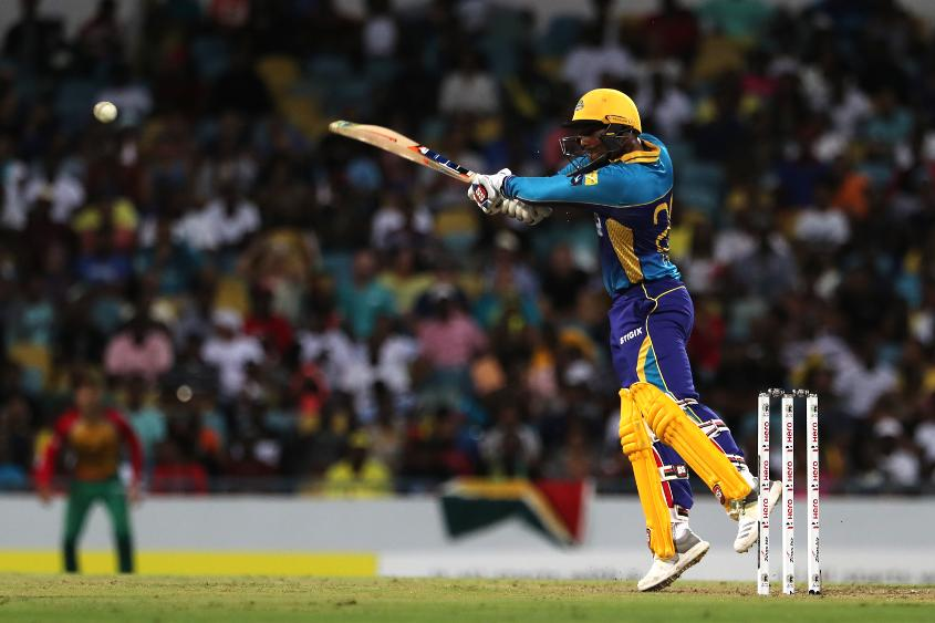 Nicholas Pooran gave the Barbados Tridents innings a late boost