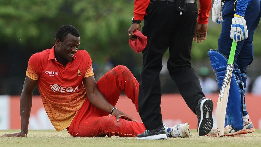 Carl Mumba has not played at all since he broke his knee in Hambantota in July 2017