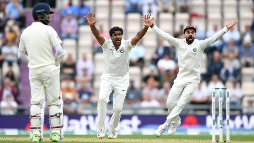 Ashwin bowled 35 overs in England's second innings but returned a solitary wicket