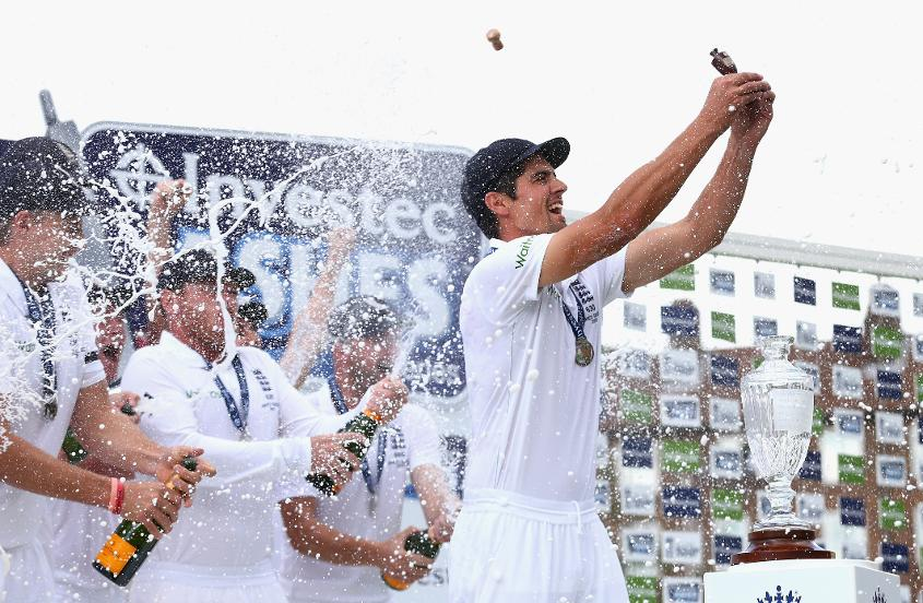 Cook won two Ashes series as captain, and two more as a player