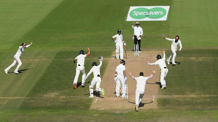 Moeen Ali picked up nine wickets in the Test, and rose to No.33 in the bowlers' list