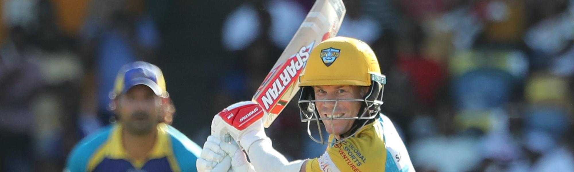 David Warner led the chase with an unbeaten 42