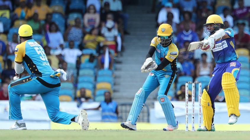 Hashim Amla was the top scorer for Barbados