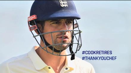Alastair Cook: Thank You Chef