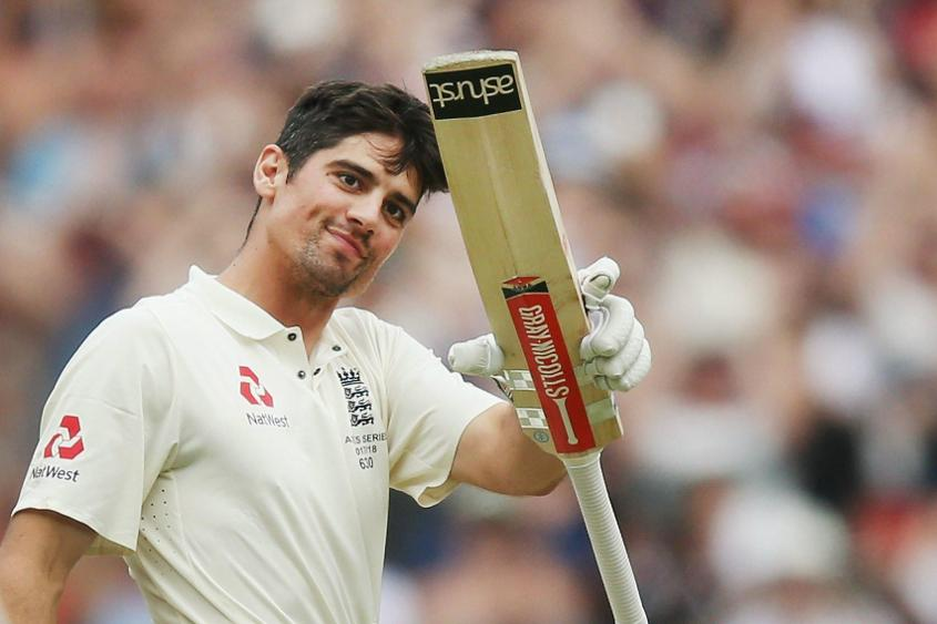 Cook is England's leading Test run-scorer with 12254 at 44.88 including 32 centuries